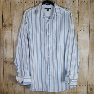 Banana Republic | Fitted Shirt | Size L | 16-16.5